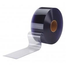 PVC pásy pro lamelové clony - 200x2mm antistatické průsvitné PVC pásy typ normál - 50m kotouče