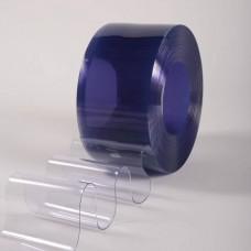 PVC pásy pro lamelové clony - 300x3mm antistatické průsvitné PVC pásy typ normál - 50m kotouče