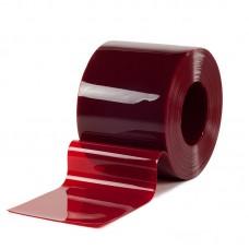 PVC pásy - 300x2mm svářečské PVC pásy červené s UV filtrem pro svařovací závěsy nebo svářečské lamelové clony - 50m kotouče