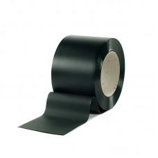 PVC pásy - 300x2mm svářečské PVC pásy tmavozelené s UV filtrem pro svařovací závěsy nebo svářečské lamelové clony - 50m kotouče