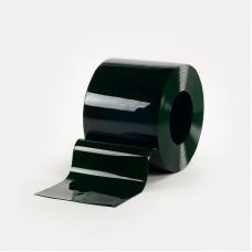 PVC pásy - 300x2mm svářečské PVC pásy zelené s UV filtrem pro svařovací závěsy nebo svářečské lamelové clony - 50m kotouče