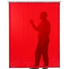 Svařovací zástěny - svářečské závěsy - PVC plachty - CEPRO oranžové