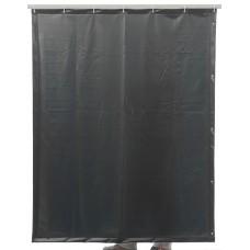 Svařovací zástěny - svářečské závěsy - PVC plachty - CEPRO tmavozelené