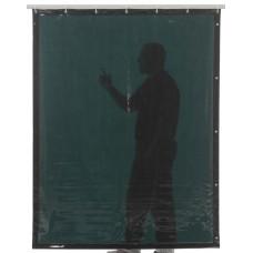Svařovací zástěny - svářečské závěsy - PVC plachty - CEPRO zelené