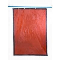 Svařovací zástěny - svářečské závěsy - PVC plachty - PEVECA bronzové (DIN 6)