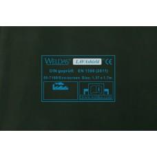 Svařovací zástěny - svářečské závěsy - PVC plachty - WELDAS zelené 1,37m x 1,7m