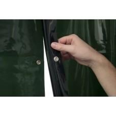 Svařovací zástěny - svářečské závěsy - PVC plachty - WELDAS zelené 1,37m x 1,8m